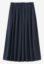 Toast Pinstripe Wool Skirt