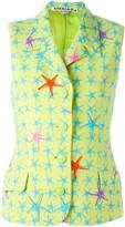 Versace Pre Owned starfish print vest