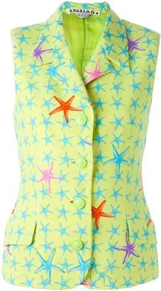 Versace Pre-Owned starfish print vest