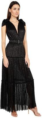 Sabina Musayev Rita Dress (Black) Women's Dress
