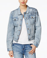 Velvet Heart Rosetta Cotton Embroidered Denim Jacket