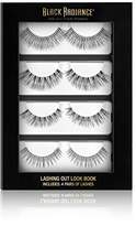 Black Radiance Deluxe Lash Book, 4 Count