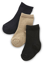 Starting Out Baby Boys Ribbed Socks 3-Pack
