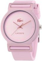 Lacoste Women's Tokyo 2020076 Silicone Analog Quartz Watch