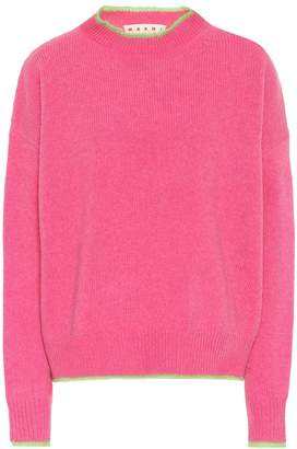 Marni Wool and mohair-blend sweater