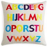 """Alexandra Ferguson ABC Decorative Pillow, 20"""" x 20"""""""
