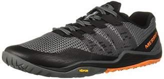 Merrell Men's's Trail Glove 5 Fitness Shoes, Grey (Castlerock Castlerock), (43 EU)