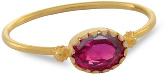 Emma Chapman Jewels Grecian Gold Red Spinel Ring