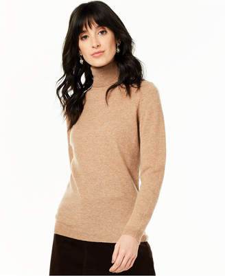 Charter Club Cashmere Turtleneck Sweater, Regular & Petite Sizes