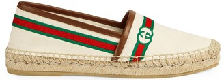Gucci Women's embroidered espadrille