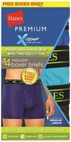 Hanes Premium Boxer Briefs Hanes Premium 4 Pk Multi-colored L