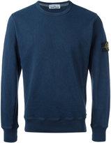 Stone Island crew-neck sweatshirt