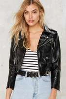 Nasty Gal Rock the Moto Cropped Jacket