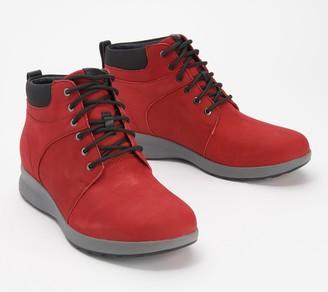Clarks Leather Lace-Up Boots - Un Adorn Walk