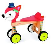 Janod Fox Ride-On Toy
