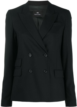 Paul Smith Double-Breasted Blazer Jacket