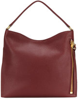Tom Ford Alix Hobo tote bag - women - Cotton/Calf Leather/Polyester/Brass - One Size