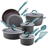 Rachael Ray Cucina 12 piece Hard Anodized Cookware Set - Blue