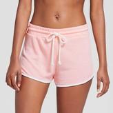 Xhilaration Women's Sleep Shorts Soft Pink
