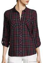 Soft Joie Joie Sequioa Cotton Plaid Shirt