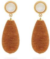 Lizzie Fortunato Terra Cotta teardrop earrings