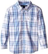 Tommy Hilfiger Long Sleeve Ethan Shirt (Toddler/Little Kids)