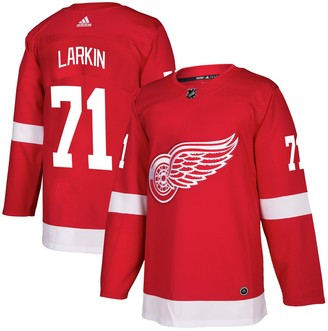 adidas Men's Dylan Larkin Red Detroit Red Wings Authentic Player Jersey