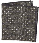 Thomas Mason Dot Pocket Square