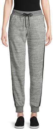Electric Yoga Drawstring Cotton-Blend Jogger Pants
