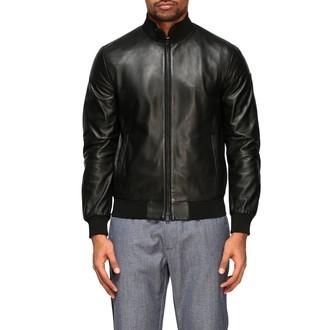 Emporio Armani Leather Bomber