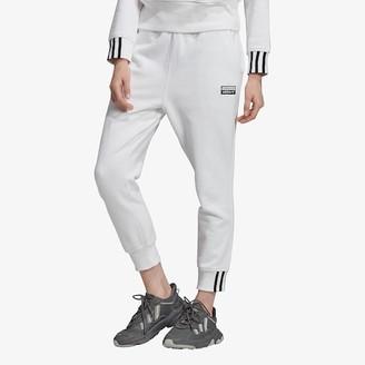 adidas 'Reveal Your Voice' Pants - White - Fleece