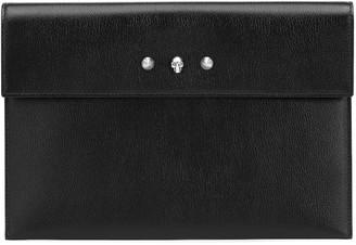 Alexander McQueen Leather clutch