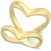 INC International Concepts Gold-Tone Double V Ring, Only at Macy's