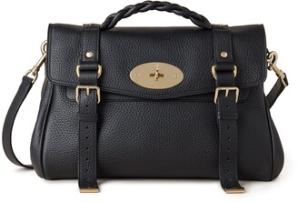 Mulberry Alexa Black Heavy Grain