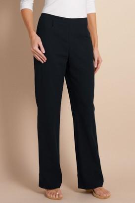 Women Straight Leg Gauze Pants