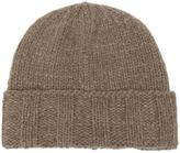 The Elder Statesman ribbed knit beanie - men - Cashmere - One Size