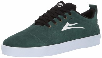 Lakai Footwear Bristol Pine SUEDESize 5 Tennis Shoe Suede 5 Standard US Width US