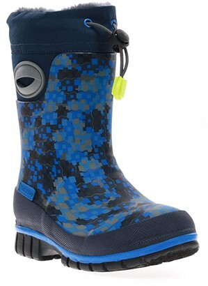 Western Chief Canyon Winterprene Tall Boot (Toddler/Little Kid/Big Kid) (Blue) Boys Shoes