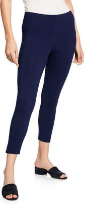 Joan Vass Stretch-Jersey Leggings