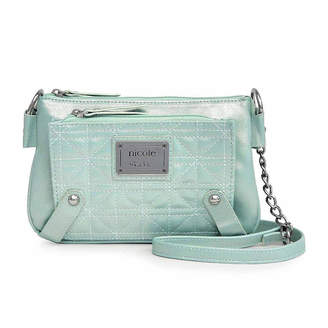 Nicole Miller Nicole By Suzie Quilted Mini Crossbody Wallet