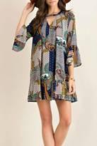 Entro Patchwork Sass Dress