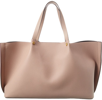 Valentino Escape Leather Shopper Tote