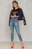 Cheap Monday Donna Penny Blue Jeans