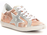 Freebird 927 Star Leather Side Star Detail Denim Lace-Up Sneakers