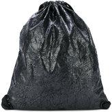 NO KA 'OI No Ka' Oi - crinkled drawstring Bag - women - Polyester/Acetate/Viscose - One Size