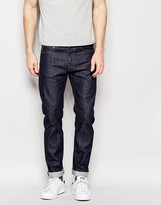 Edwin Jeans Ed-85 Skinny Low Crotch Fit Cs Night Blue Unwashed