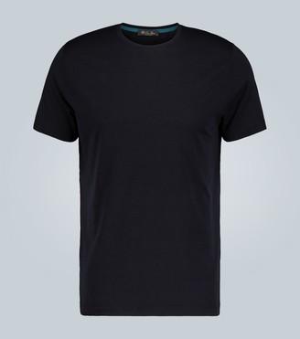 Loro Piana Silk and cotton-blend T-shirt