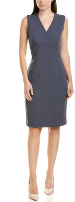 Lafayette 148 New York Kendall Wool Sheath Dress