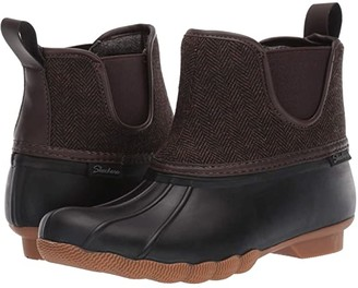Skechers Pond - Staying Dry (Navy/Brown) Women's Boots