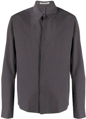 Individual Sentiments Plain Long-Sleeved Shirt